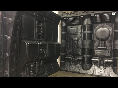 NetherCraft Vacuform Panels Add Instant Haunted Attraction Detail