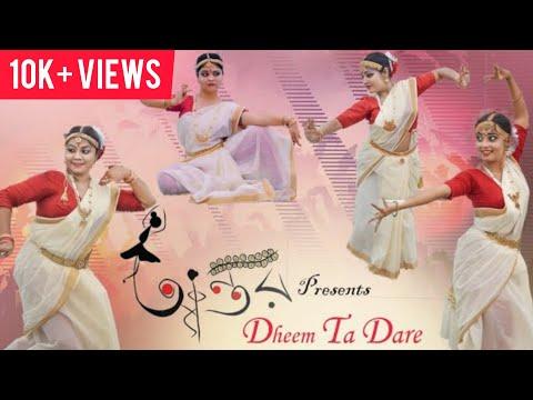 | DHEEM TA DARE | By ANTAR CREATIVE | THAKSHAK | BHARATNATYAM |