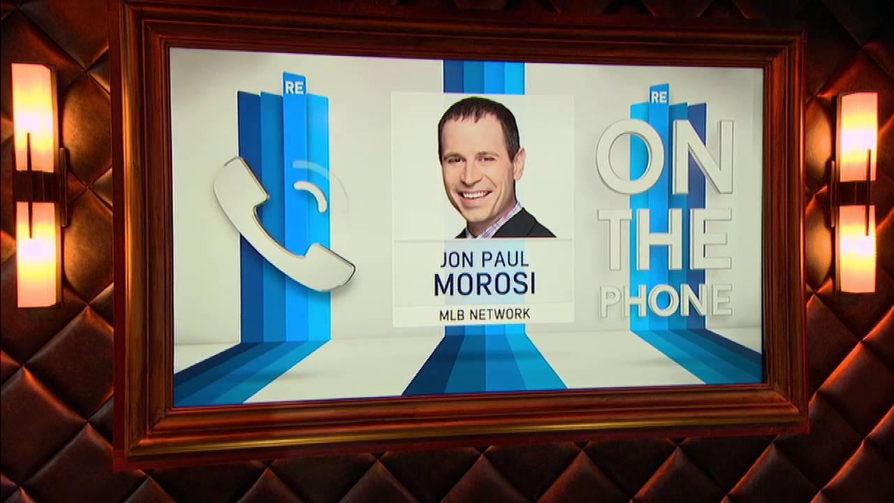 jon paul morosi of mlb network phone call interview 9 30 16 jon paul morosi of mlb network phone call interview 9 30 16