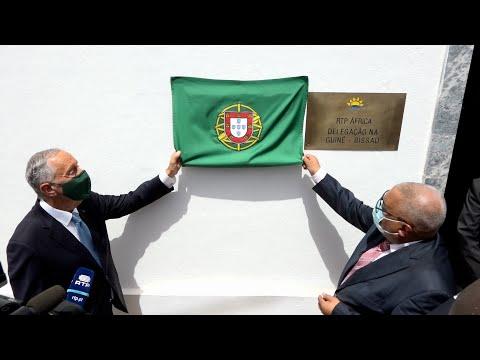Inauguração das novas instalações da RTP África na Guiné-Bissau