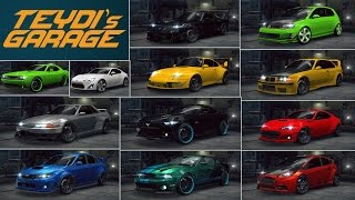Need For Speed No Limits   Cars in my garage UPDATE