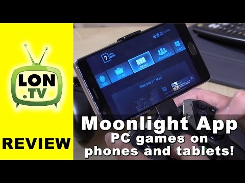 Moonlight App - Stream & Play PC / Steam Games On Smartphones & Tablets - Android / IPhone / IPad