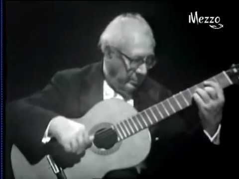Andres Segovia - Na TV