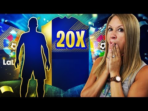 YOU WON'T BELIEVE THIS GUARANTEED LA LIGA TOTS PACK!! FIFA 18