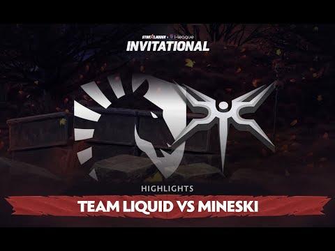 Invitational S3 Highlights: Team Liquid vs Mineski, Group Stage