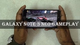 Samsung Galaxy Note 3 Neo Review: Gameplay - Fruit ninja, Beach buggy, FIFA 14, DT 2, Asphalt 8