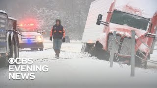 Temperatures plunge after deadly winter storm