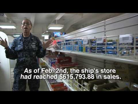 Vinson 101: Taking A Trip To The Ship's Store