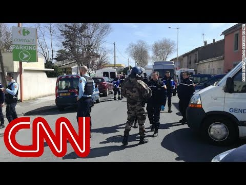 One dead in France supermarket hostage-taking