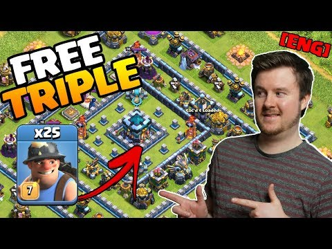 How To Triple EVERY Ring Base In Clash Of Clans | Easy 3 Star Vs Ring Bases In Legend League