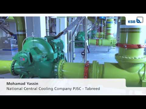 KSB Reference: District Cooling Plant Abu Dhabi, UAE