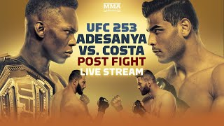 UFC 253: Israel Adesanya vs. Paulo Costa Post Fight Live Stream - MMA Fighting