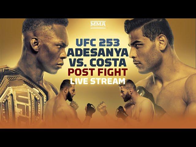 UFC 253: Israel Adesanya vs. Paulo Costa Post Fight Live Stream - MMA Fighting