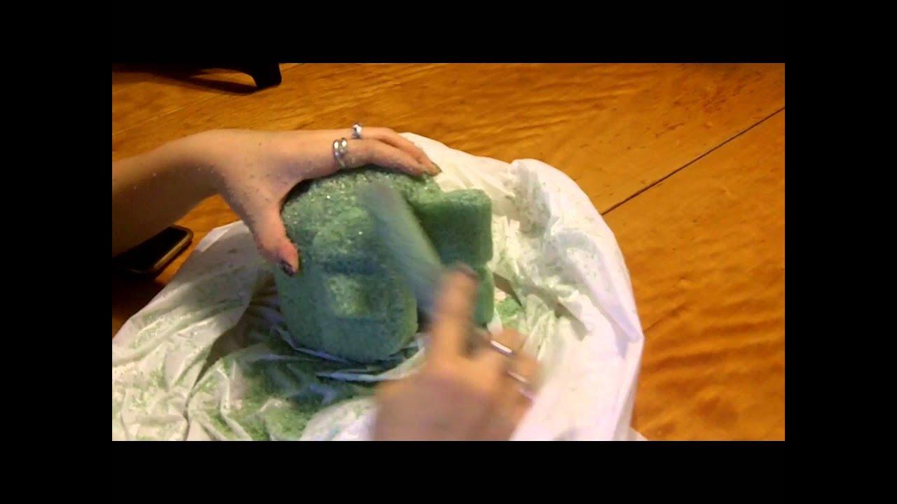 Art foam birdie speed sculpt part youtube
