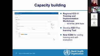WHO on the implementation of ICD-11