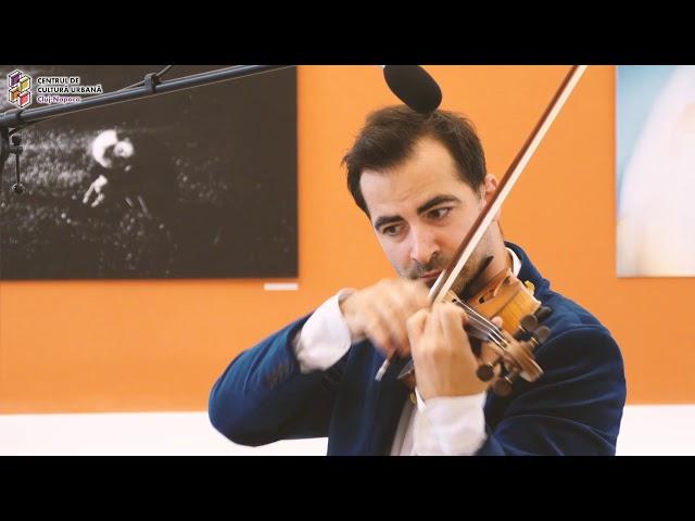 Scurt recital de vioară și pian - Vlad Ioan Baciu, Larisa Pentea