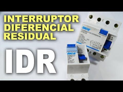 Interruptor diferencial residual - IDR! Funcionamento e como usar!