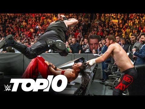 Tag teams breaking tables: WWE Top 10, June 6, 2021