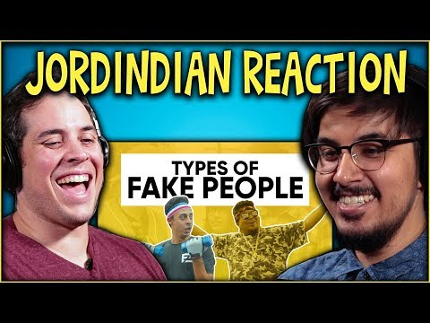 Types of Fake People Reaction Video |...