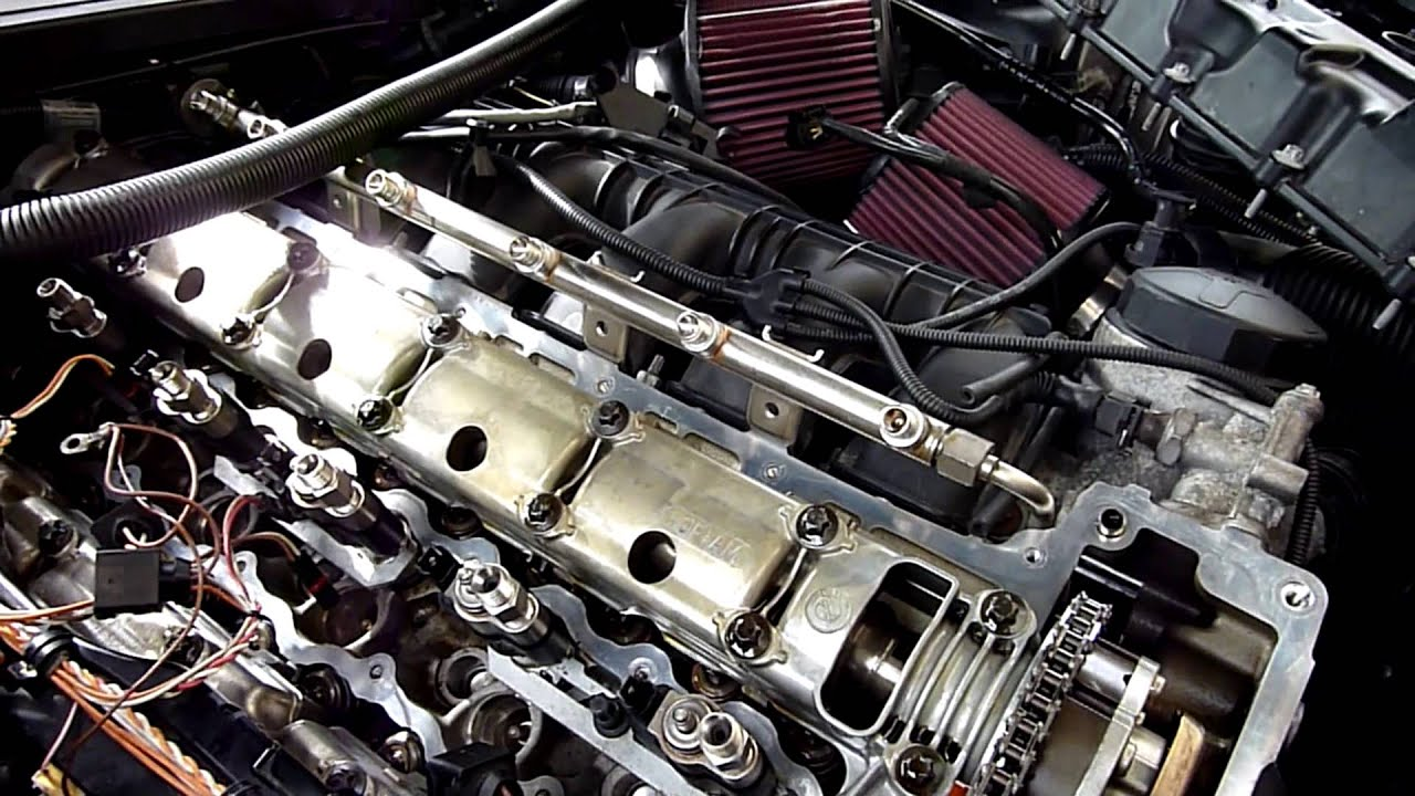 Kind of a n54 valve cover diy youtube pooptronica Choice Image
