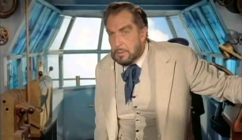 Vincent Price in una scena del film