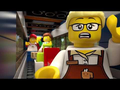 LEGO City – Passenger Train set 60197 (Product Video)