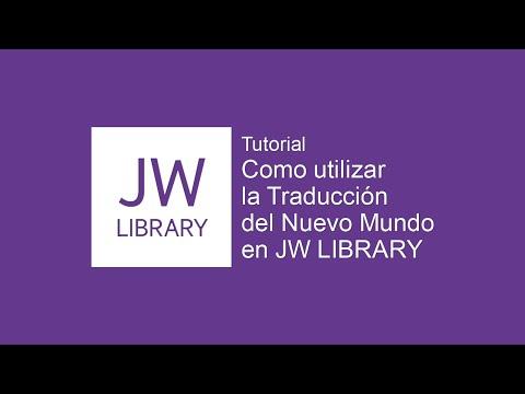 Cómo Utilizar La Traducción Del Nuevo Mundo En Español En JW Library - JW Tutoriales