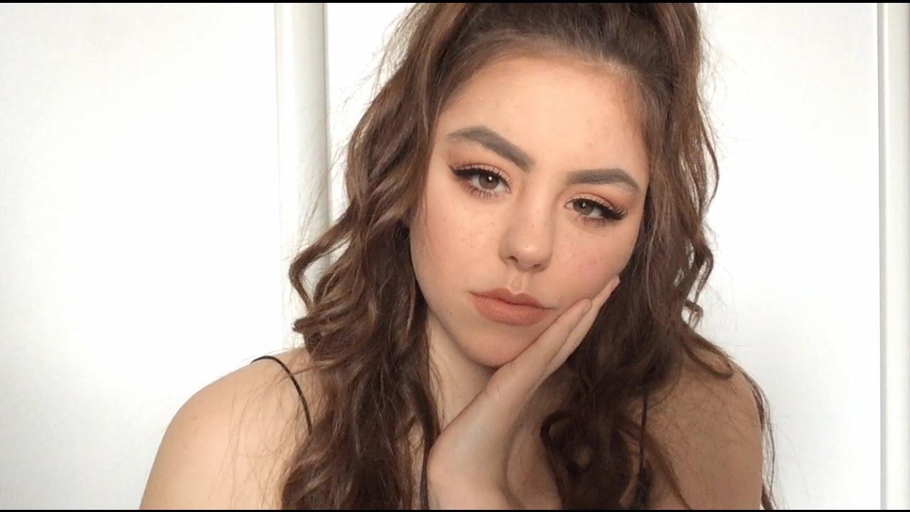 Exceptionnel Maquillage avec des taches de rousseur - YouTube FE36