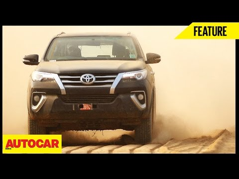 Toyota Fortuner Experiential Drive | Feature | Autocar India