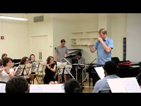 Columbia Summer Winds Composer Night with Michael Markowski 2014