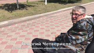 Павлодарский инвалид прокатил вице-министра на микроавтобусе.(, 2017-05-19T07:56:27.000Z)