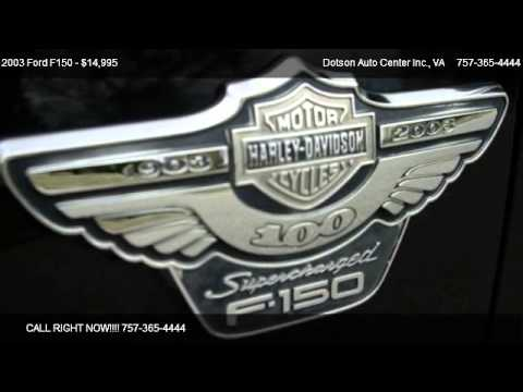 2003 Ford F150 Harley-Davidson SuperCrew 2WD - for sale in Carrollton, VA 23314