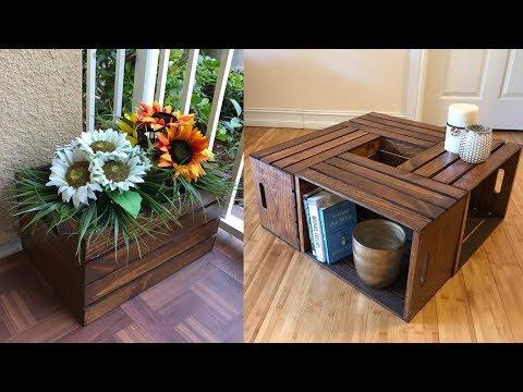 Wooden Crates Creative Ideas