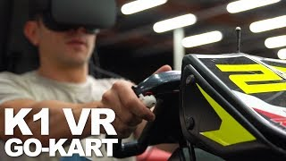 Master of Shapes lets you drive a K1 Go-Kart while wearing a VR headset