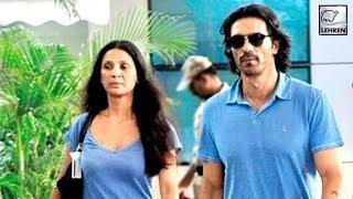 Real Reason Behind Arjun Rampal & Mehr Jesia's Separation | LehrenTV