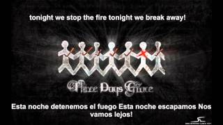 Break - three days grace (LETRA EN ESPAÑOL E INGLES)