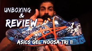 UNBOXING AND REVIEW of the ASICS GEL NOOSA TRI 11