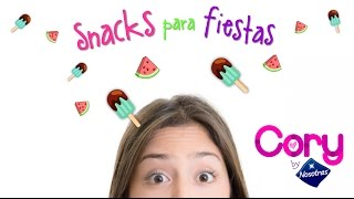 Video ¡¡Snacks para fiesta!! 🍊 Cory by Nosotras download MP3, 3GP, MP4, WEBM, AVI, FLV Januari 2018
