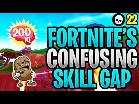 Fortnite's Skill Gap Is More Complicated Than You Think... (Fortnite Battle Royale Season 8)