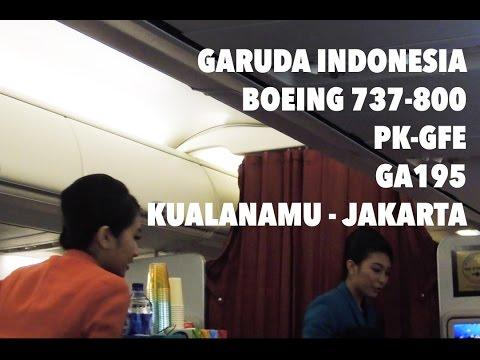 [FLIGHT REPORT] Garuda Indonesia GA195 Medan - Jakarta