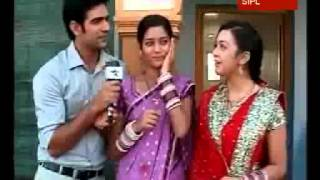 "Ambar gives a tight slap in ""Sajan Ghar jaana Hai"""