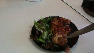 Мясо-гриль в горчично-соевом маринаде.