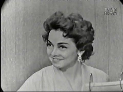 What's My Line? - Kathryn Grayson; Tom Poston [panel]; Martin Gabel [panel] (Jul 20, 1958)