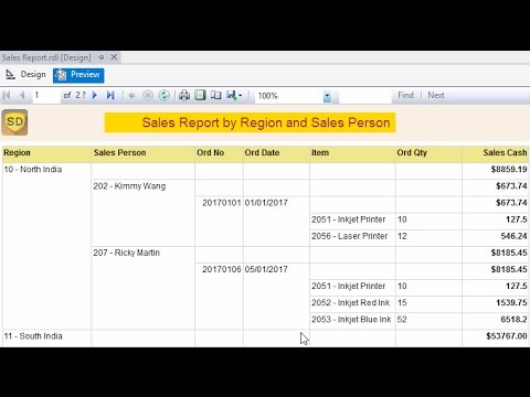 SSRS - How to add Grouping and Totals in SSRS
