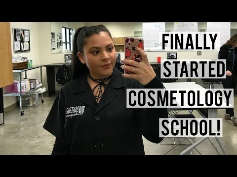 VLOG | Cosmetology School Week 1