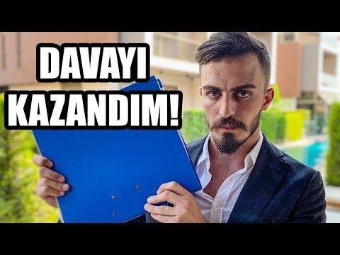 TAZMİNAT DAVASINI KAZANDIM!!