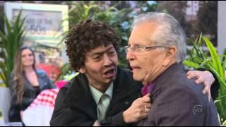 A Praça É Nossa (31/07/14) - Sangue diz para Carlos Alberto que está namorando