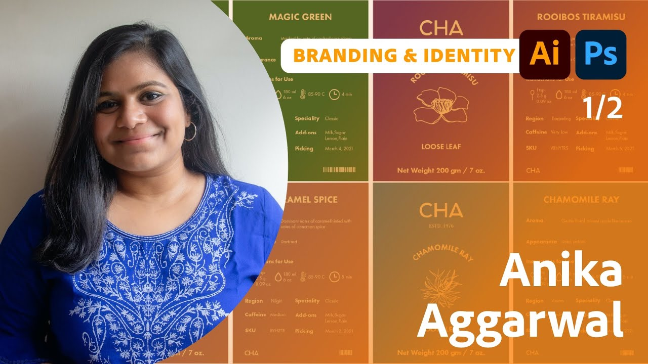 Creating the Brand Identity for a Plant-Based Kitchen with Anika Aggarwal - 1 of 2