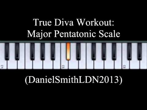 Music Performance Techniques - Vocal Workout: Major Pentatonic Work Out