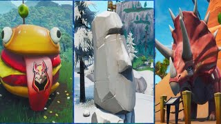 Visit The Durr Burger The Dinosaur And The Stone Head